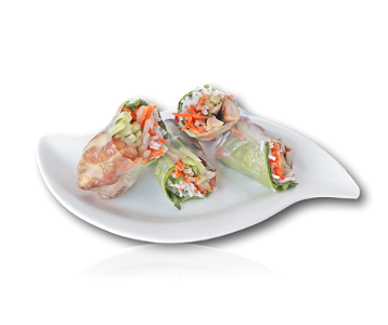 Foto Goi Cuon Ga Nuong | Salad Roll Grilled Chicken