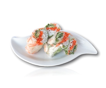 Foto Goi Cuon Tom Nuong | Salad Roll Grilled Prawns